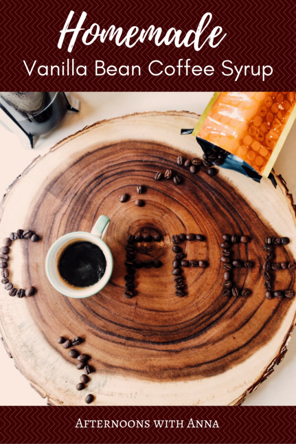 The Perfect Vanilla Bean Coffee Syrup