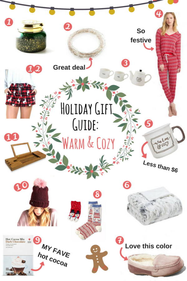 2017 Affordable Holiday Gift Guide: All Things Warm & Cozy